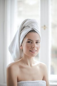 Pretty women after beauty IV Therapy
